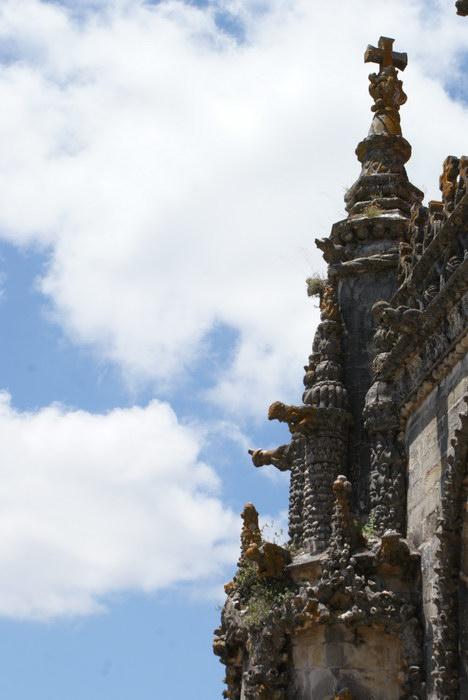 Португалия. Томар. Замок тамплиеров. Собор