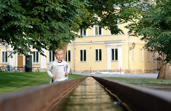 Финляндия. Турку. Фонтан