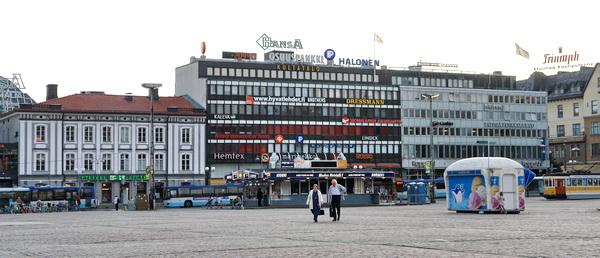 Финляндия. Турку. площадь
