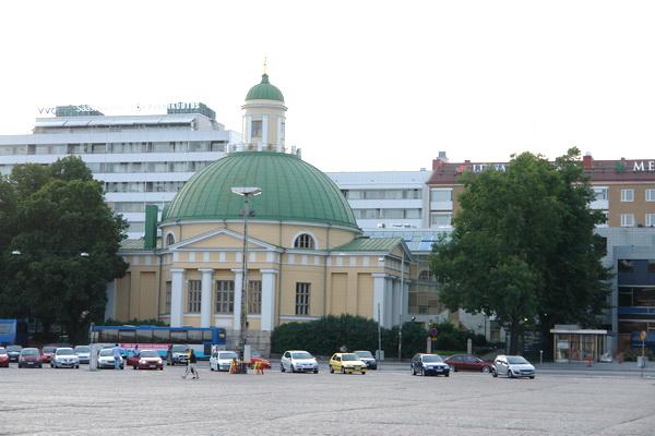 Финляндия. Турку. русская церковь Александры Римской