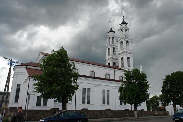 Костел св. Михаила Архангела в Ошмянах