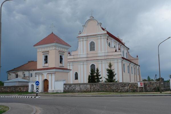 Францисканский монастырь в Гольшанах