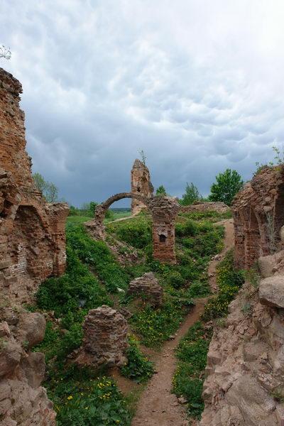 Руины Черного замка Ольшанского