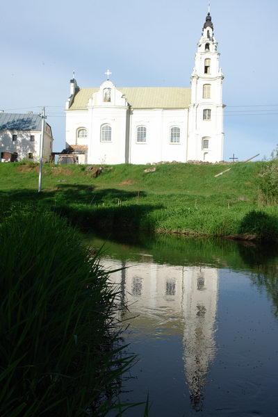 Костел Центральная доминанта ивенецкого пейзажа – костел Св. Михаила Архангела и монастырь францисканцев