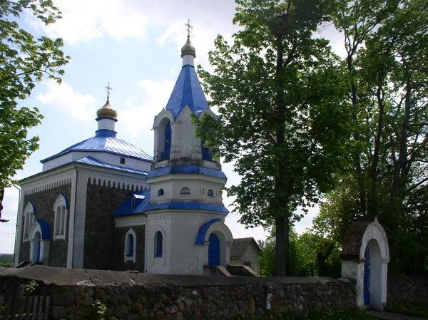 церковь св. Козьмы и Демьяна Вишнево