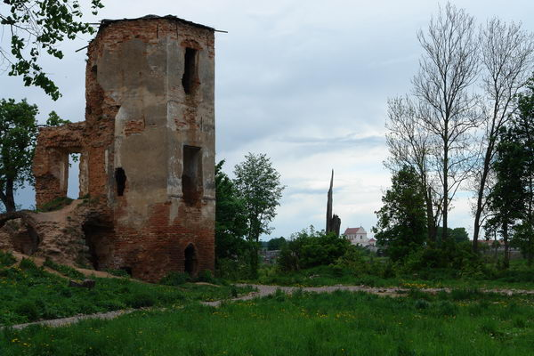 Черный замок Ольшанский, Замок в Гольшанах
