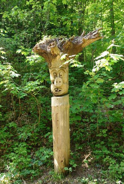 Цюрих Утлеберг, парковая скульптура